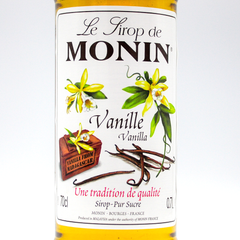 MONIN SYRUP  VANILLA  700ML