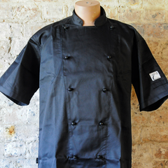 BLACK CHEF JACKETS