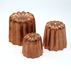 COPPER CANNELLE MOULDS
