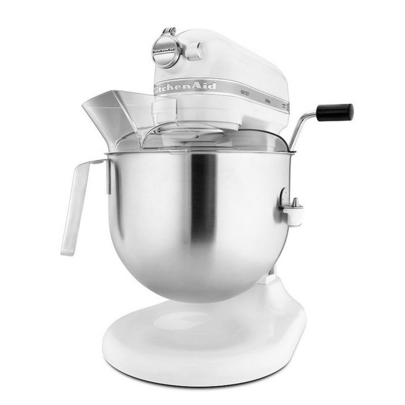 KITCHENAID MIXER KSM7590 6.9L WHITE