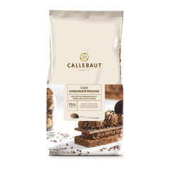 CALLEBAUT REAL DARK CHOC MOUSSE POWDER