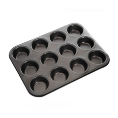 MUFFIN SHEET 12 CUP NON-STICK  70MM