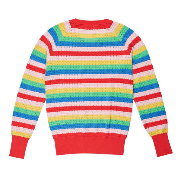play etc rainbow bright knit - multi - freddie the rat kids boutique