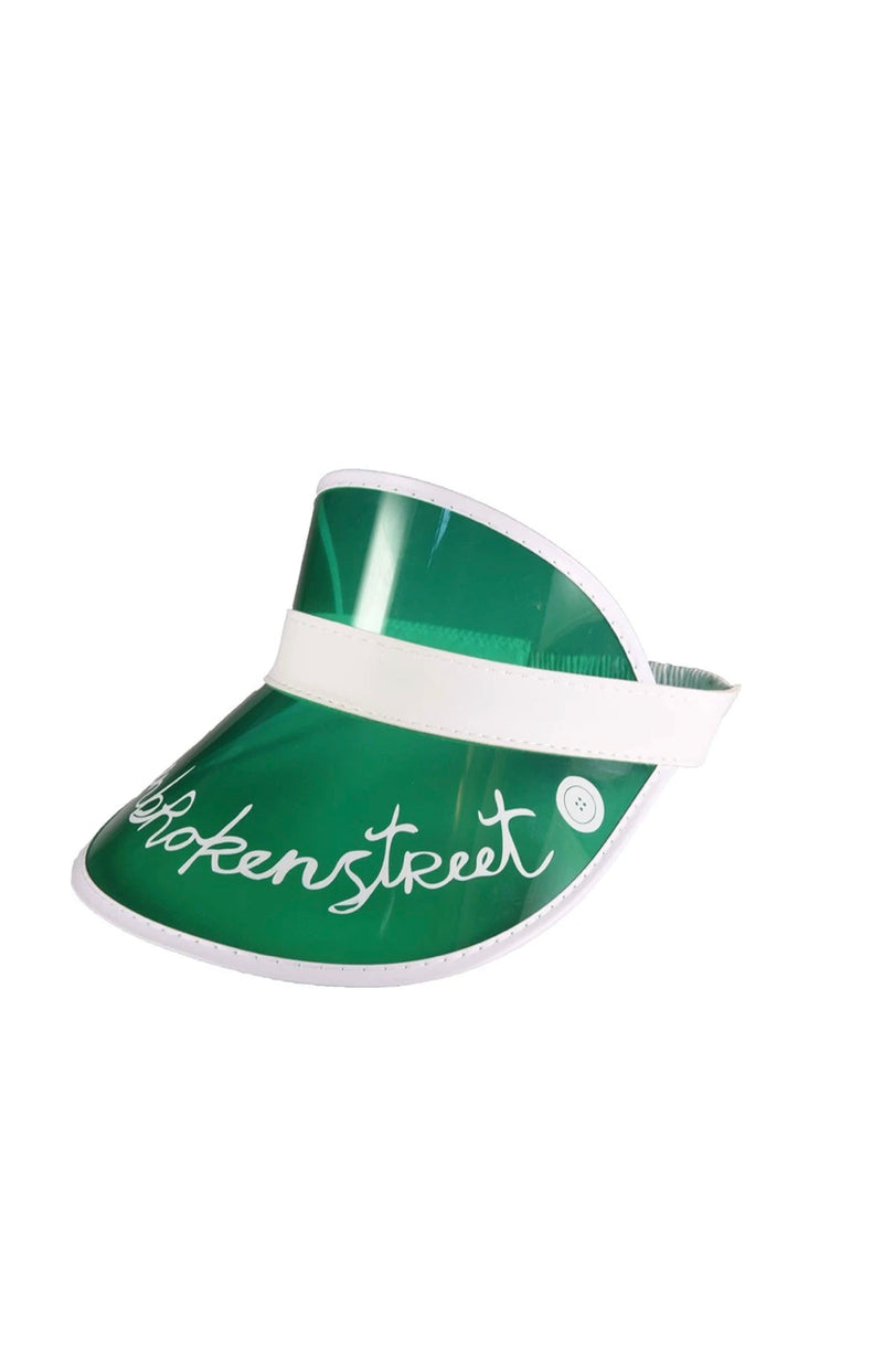 fallenBROKENstreet the cards visor - green - freddie the rat kids boutique