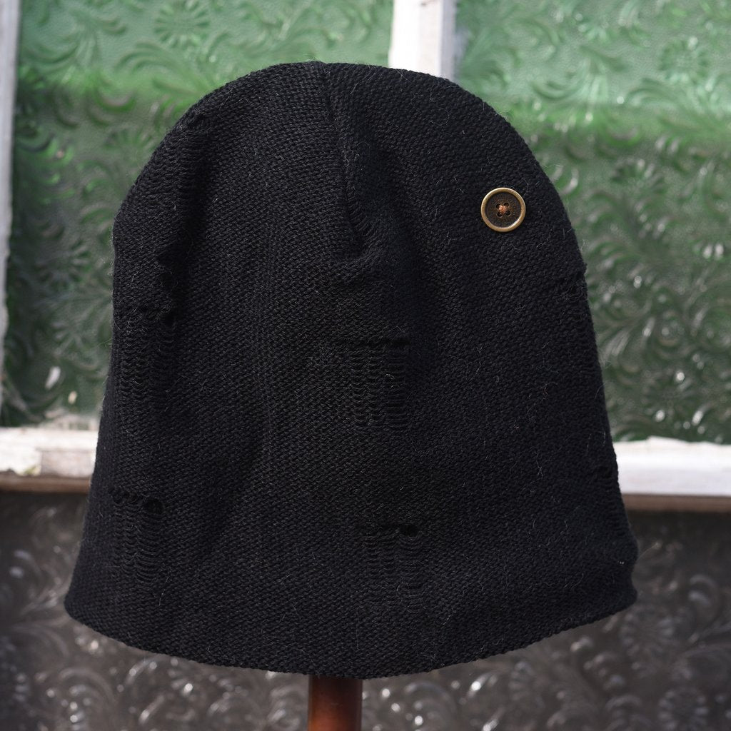 fallenBROKENstreet moth beanie - black - freddie the rat kids boutique