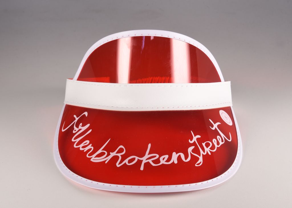 fallenBROKENstreet the cards visor - red - freddie the rat kids boutique
