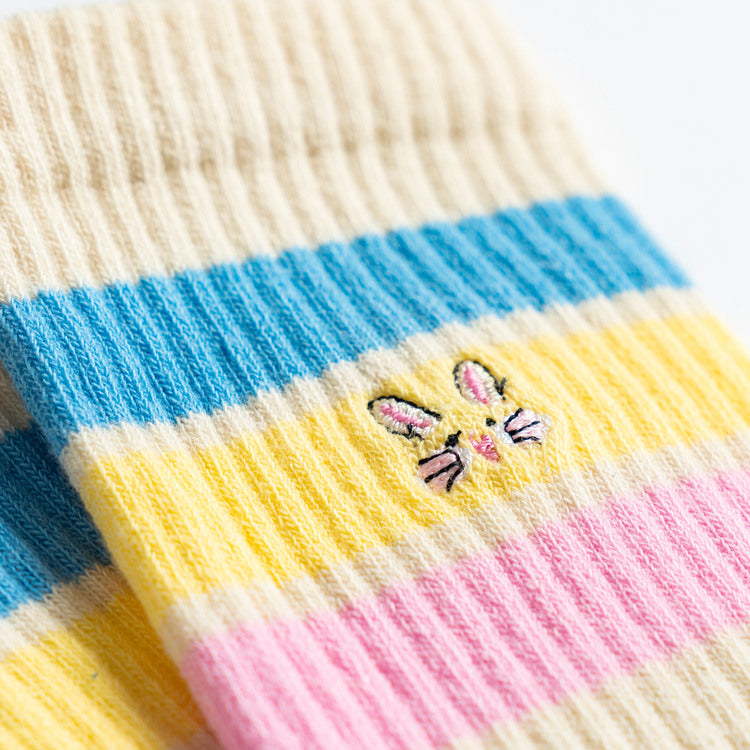 lillster candy bunny knee high socks - freddie the rat kids boutique
