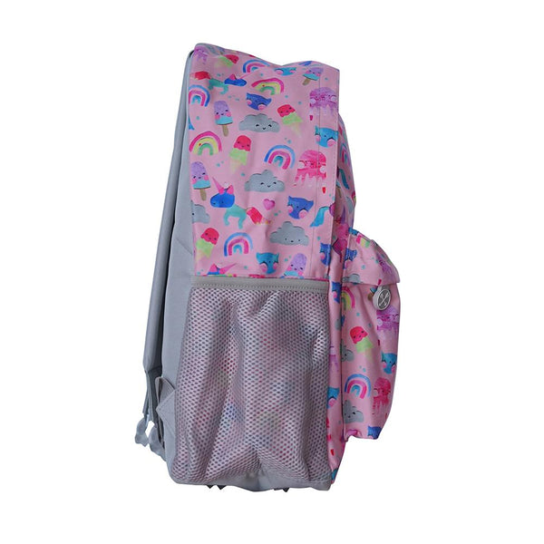 little renegade company - unicorn friends midi backpack - freddie the rat kids boutique