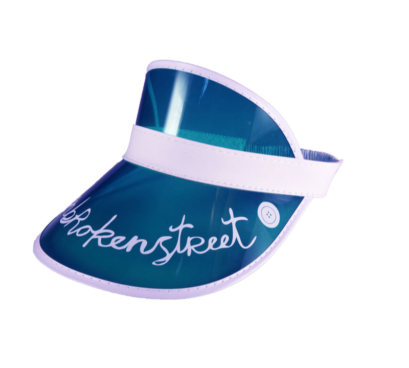 fallenBROKENstreet the cards visor - blue - freddie the rat kids boutique