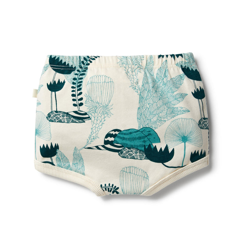 wilson + frenchy organic nappy pant - wonderful - freddie the rat kids boutique