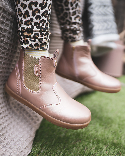 bobux KID+ jodhpur boot - rose gold - freddie the rat kids boutique
