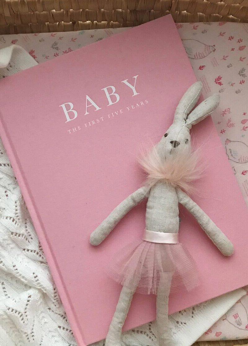 write to me baby journal - pink - freddie the rat kids boutique