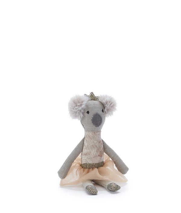 nana huchy kimmy koala rattle - peach - freddie the rat kids boutique