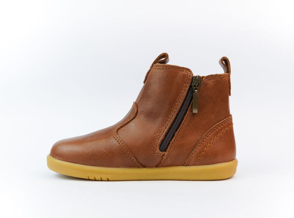 bobux step up jodhpur boots - toffee - freddie the rat kids boutique
