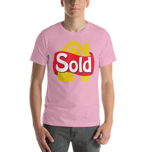 """Sold"" Short-Sleeve Unisex T-Shirt"