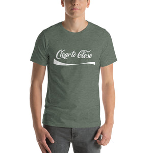 """Clear To Close"" Short-Sleeve Unisex T-Shirt"
