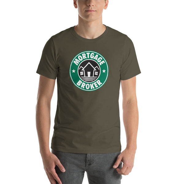 """Mortgage Broker"" Short-Sleeve Unisex T-Shirt"