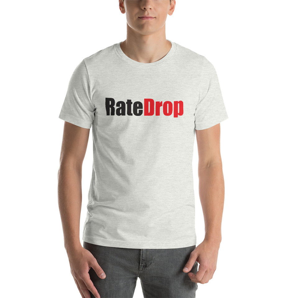 """Rate Drop"" Short-Sleeve Unisex T-Shirt"