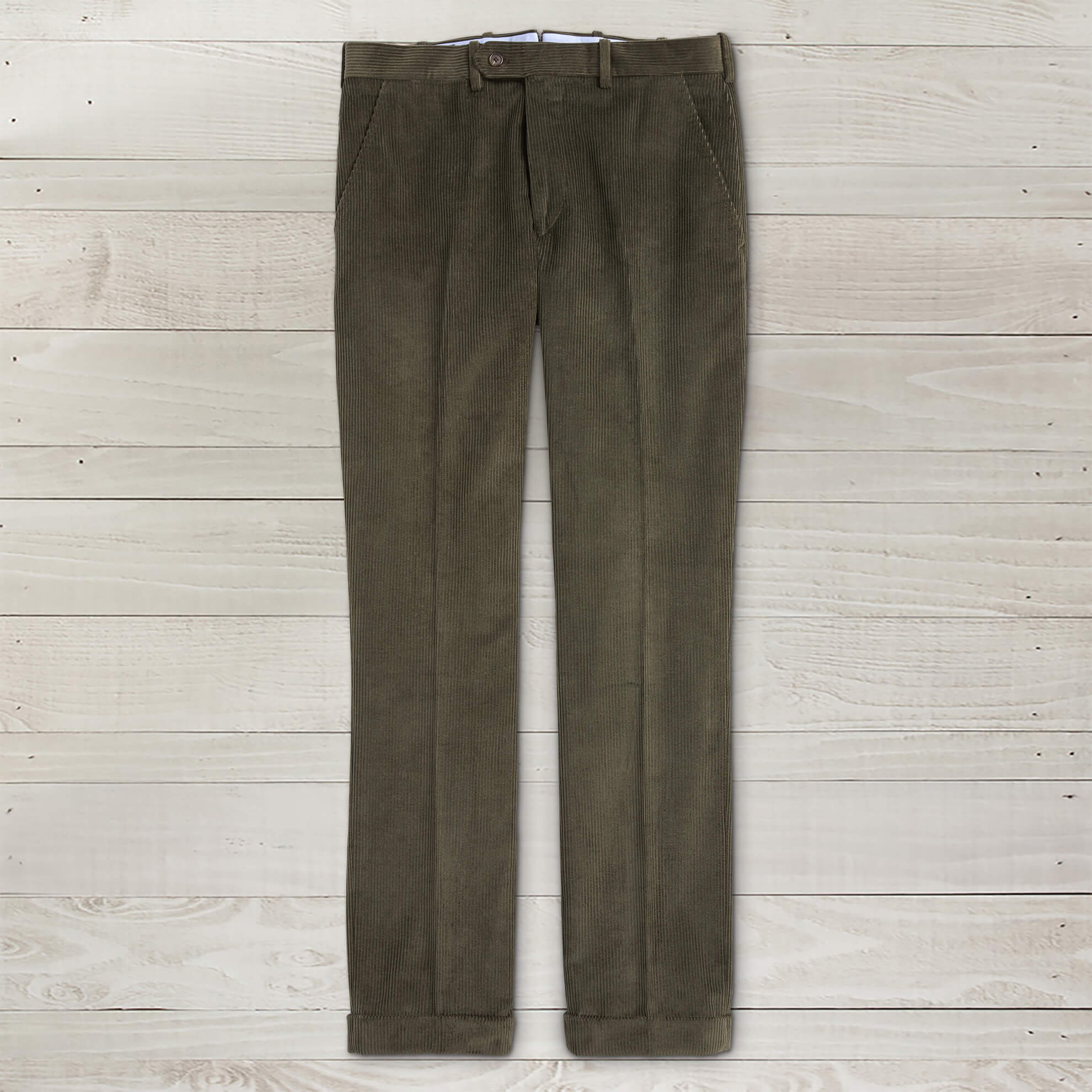 Italian Cotton Corduroy Pants