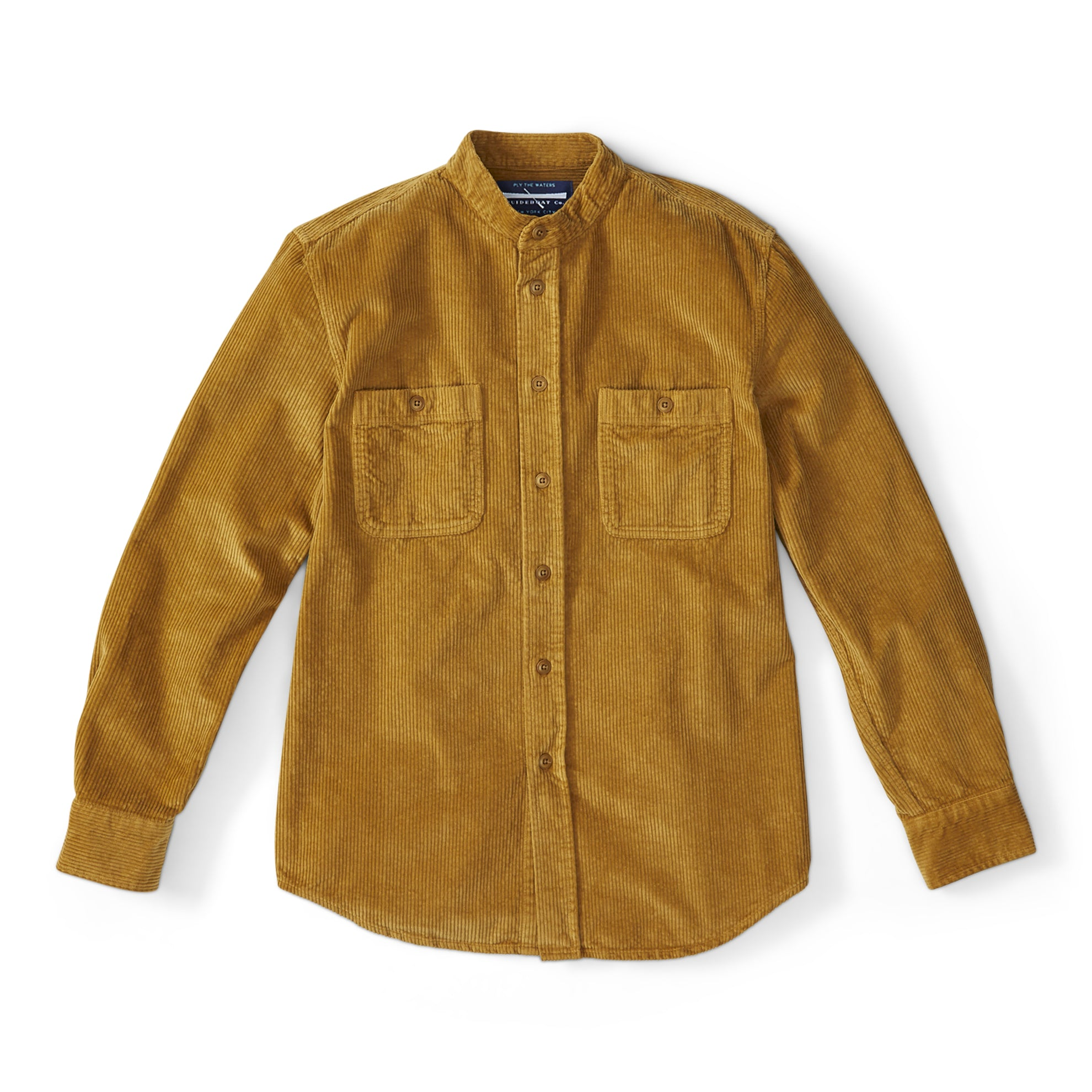 British Corduroy Shirt Jacket