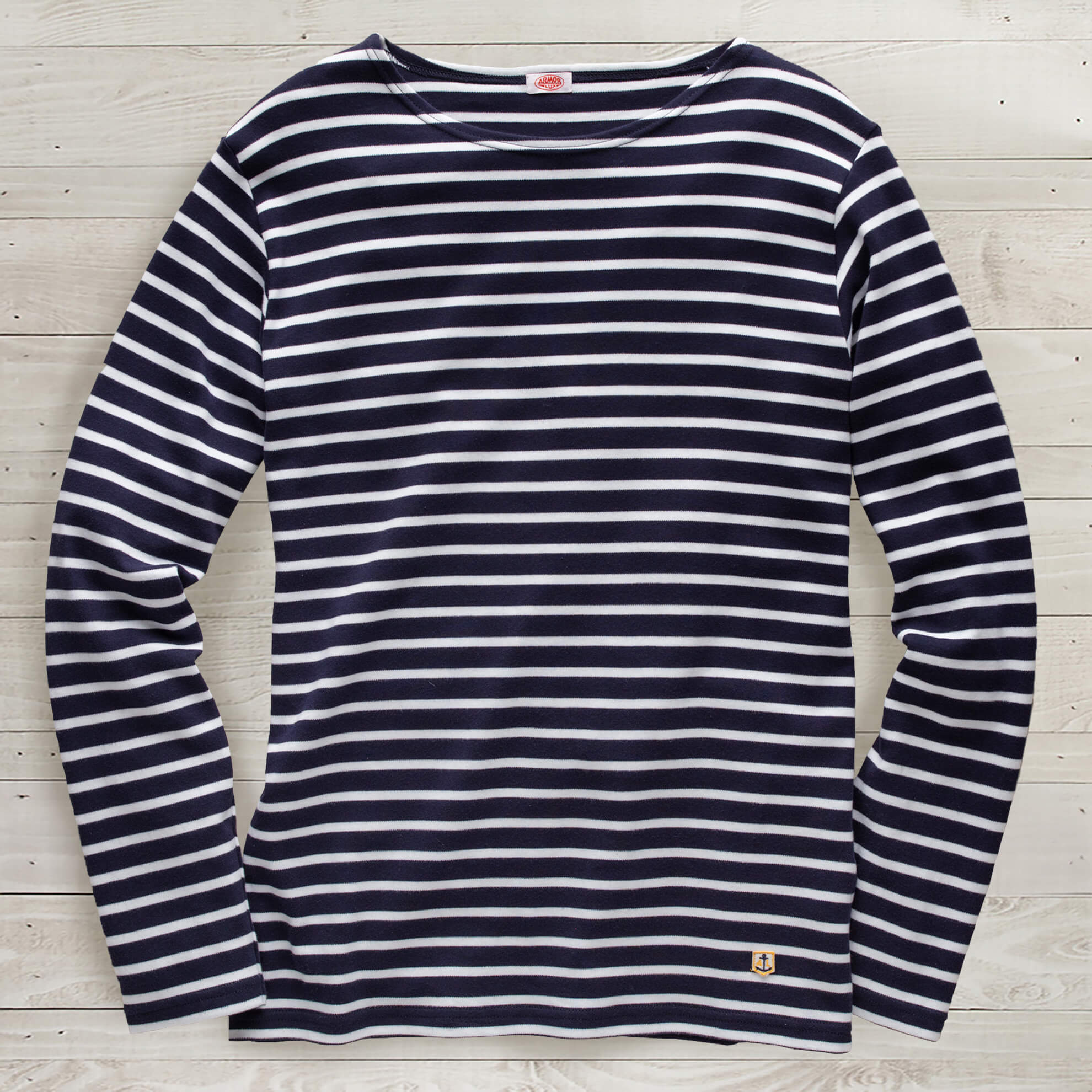 Long Sleeve Breton Boatneck