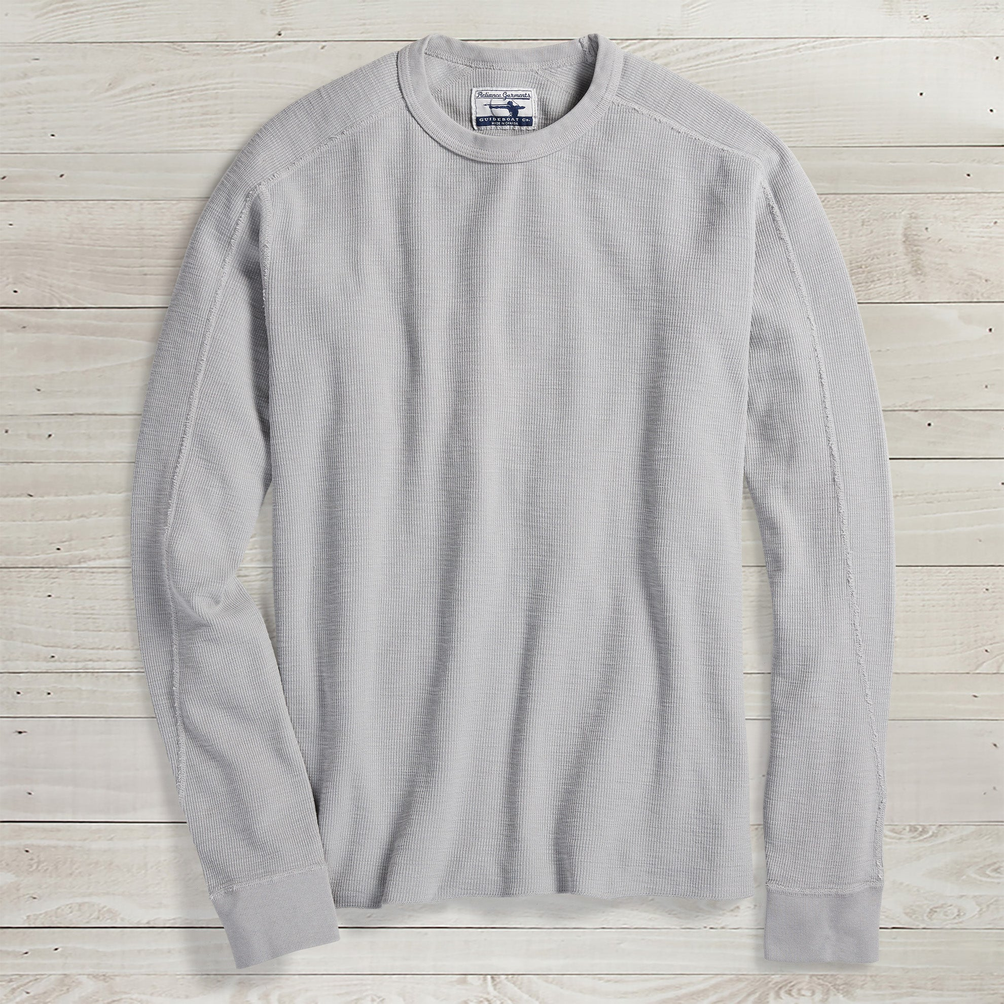 Slub Thermal Crewneck