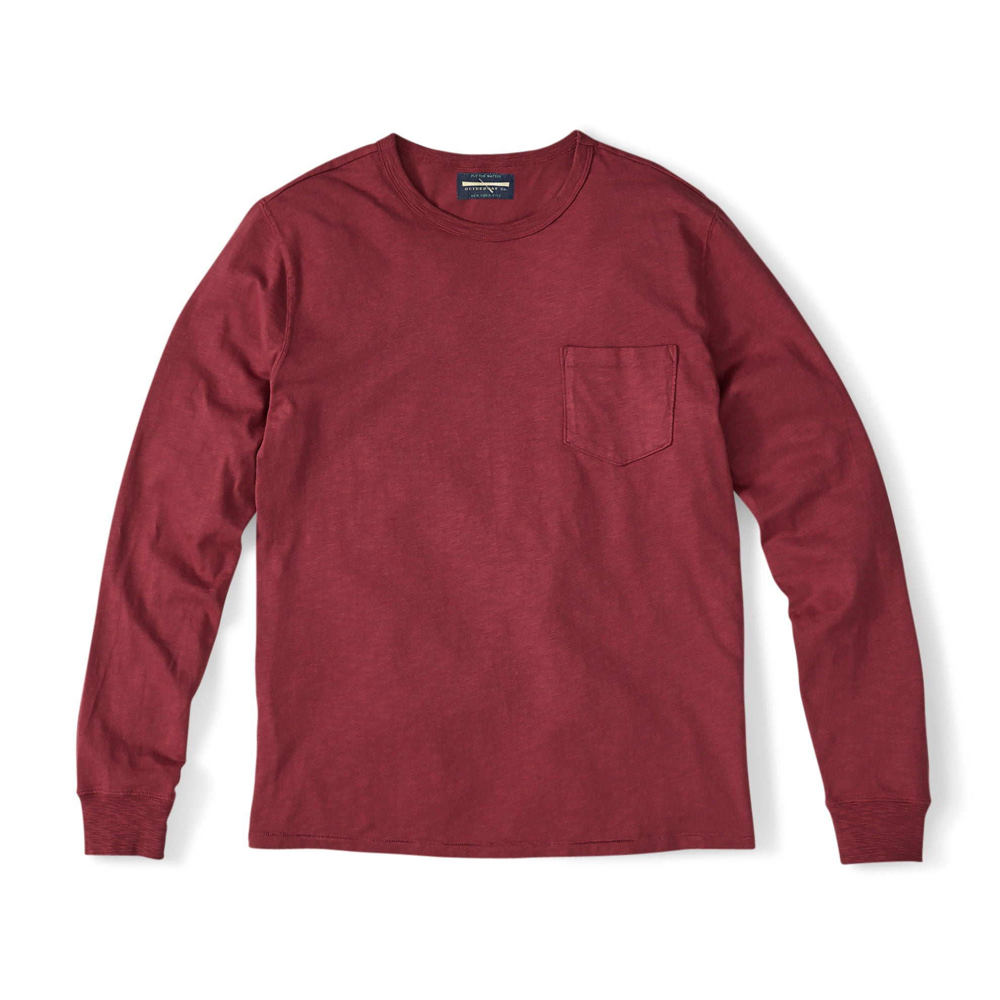 Long-Sleeve Garment-Dyed Tee