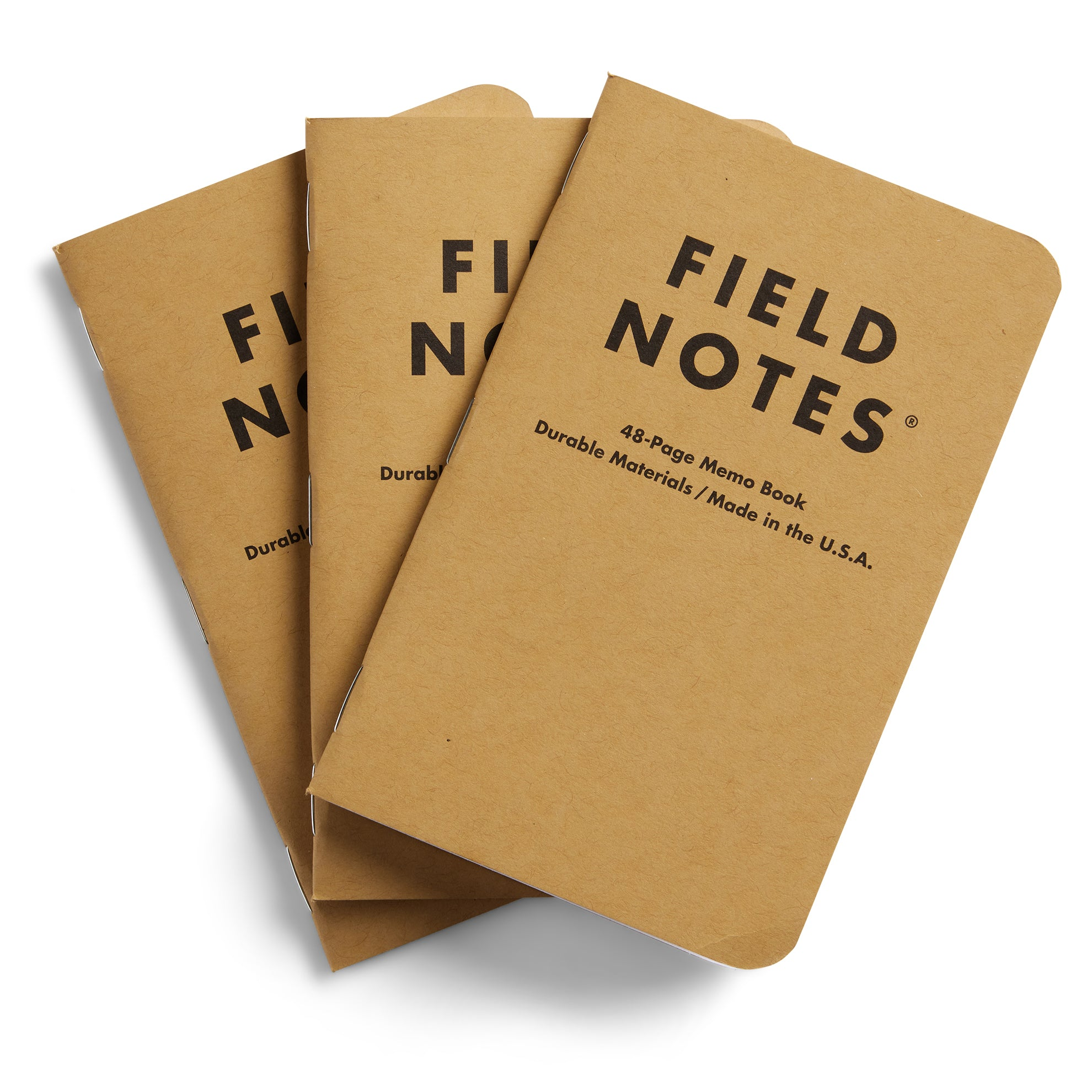 Field Notes Notebook, Set of 3
