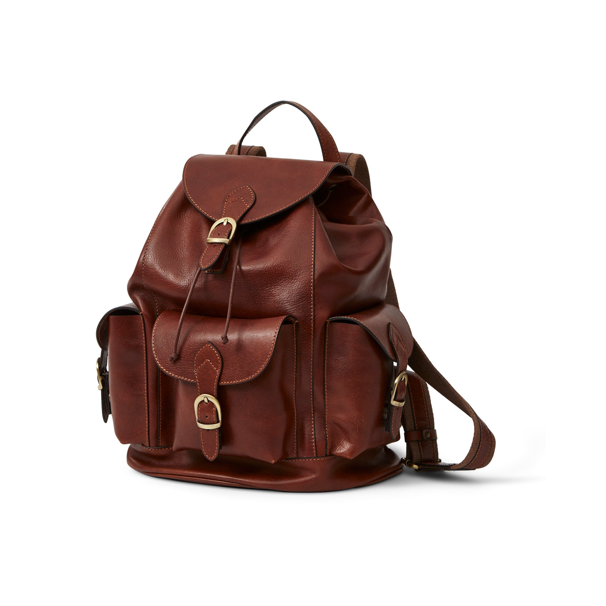 Italian Leather Rucksack