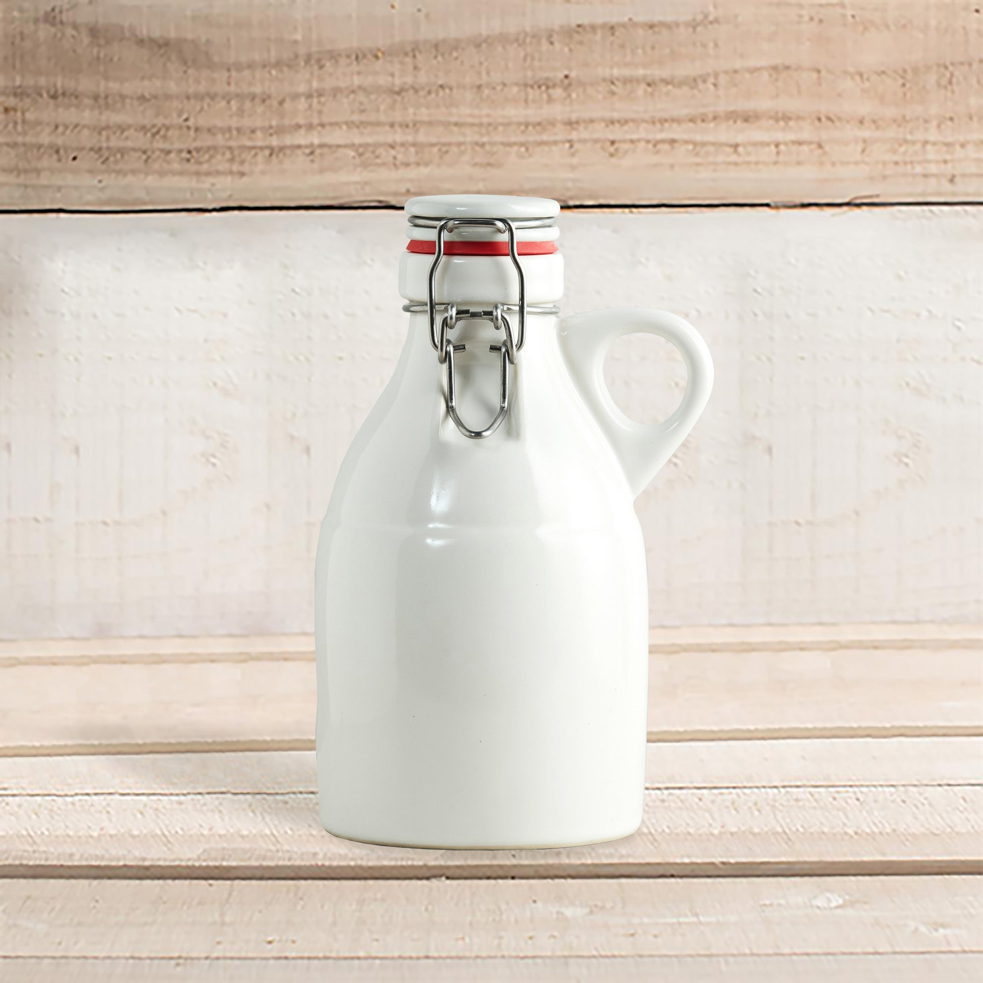 Handmade 64-oz. Portland Ceramic Growler