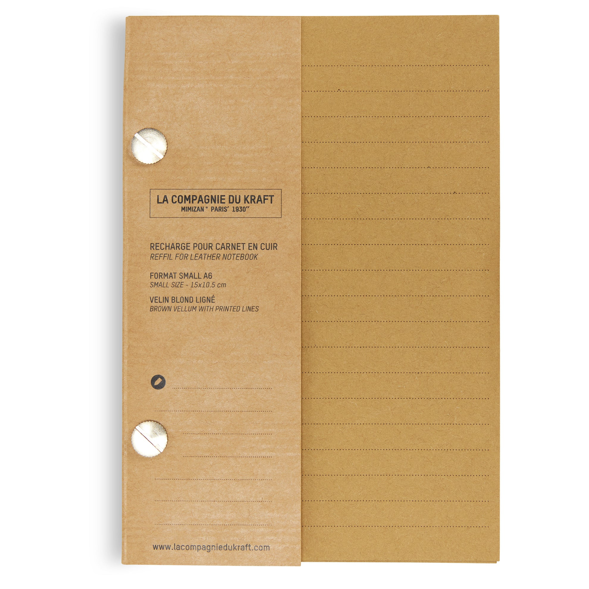 French Notebook A6 Refill