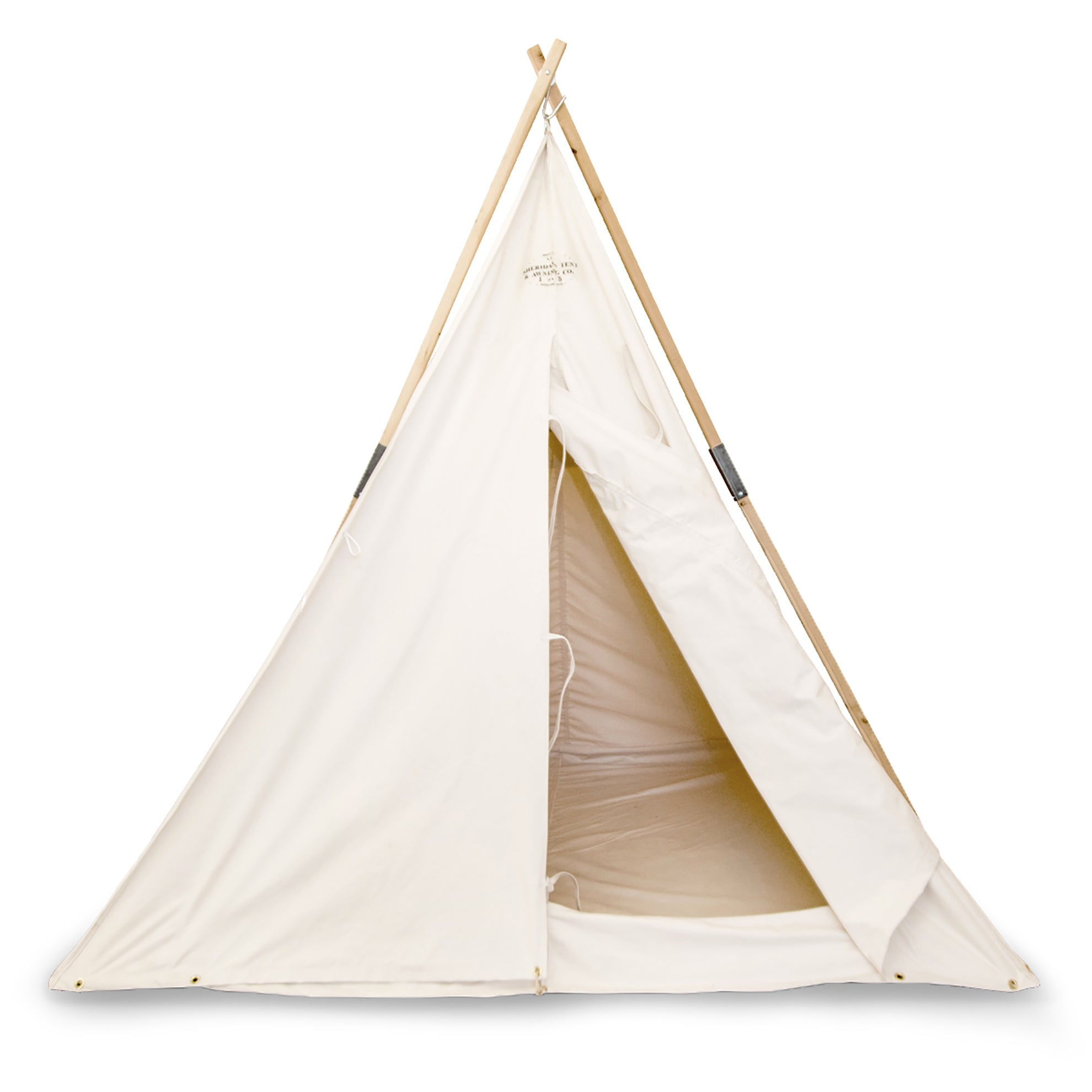 3-Pole Canvas Range Tent
