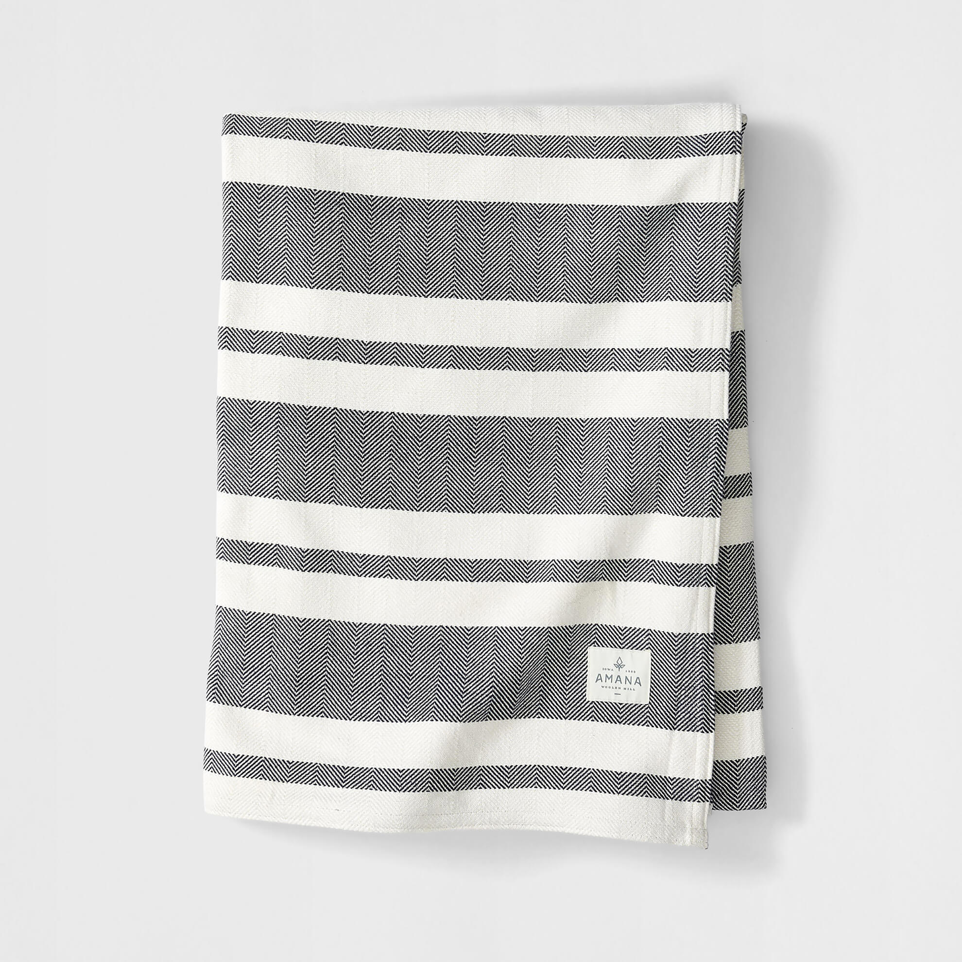 Chevron Striped Bed Blanket