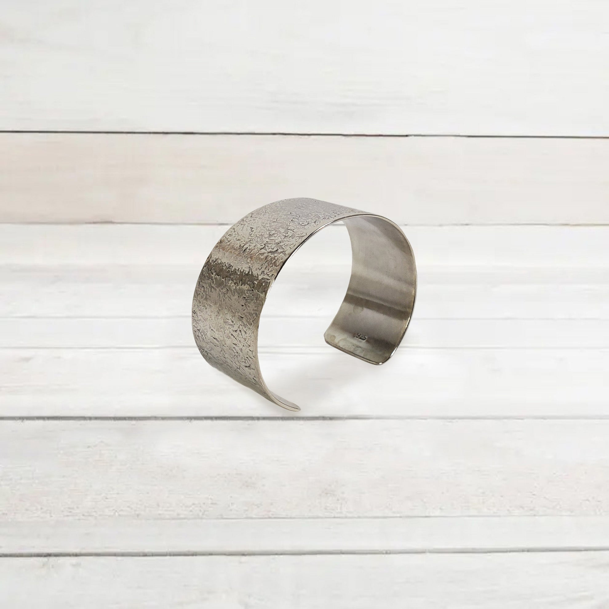 Pittsburgh-Made Silver Cuff