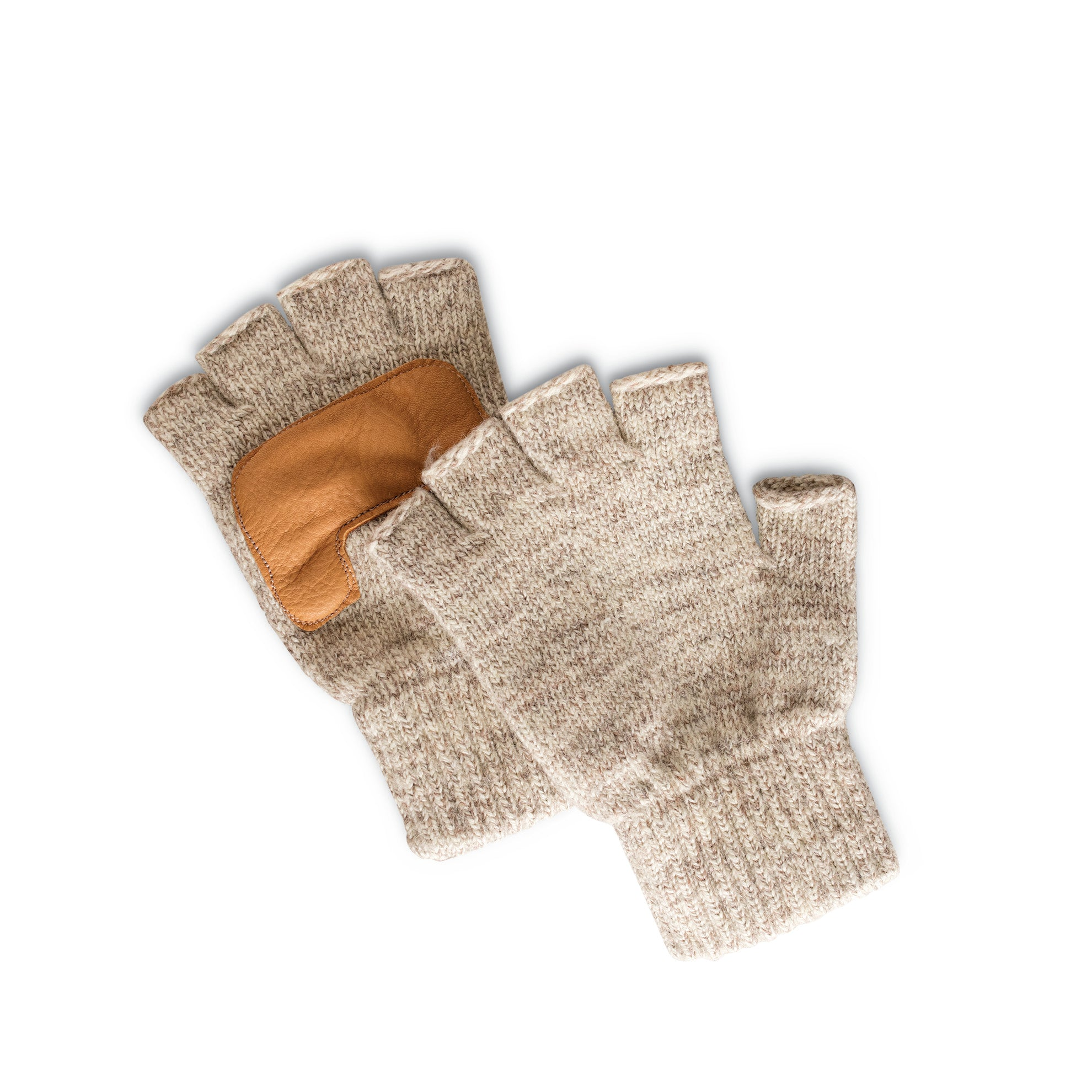 Adirondack Ragg Wool Fingerless Gloves - Women's