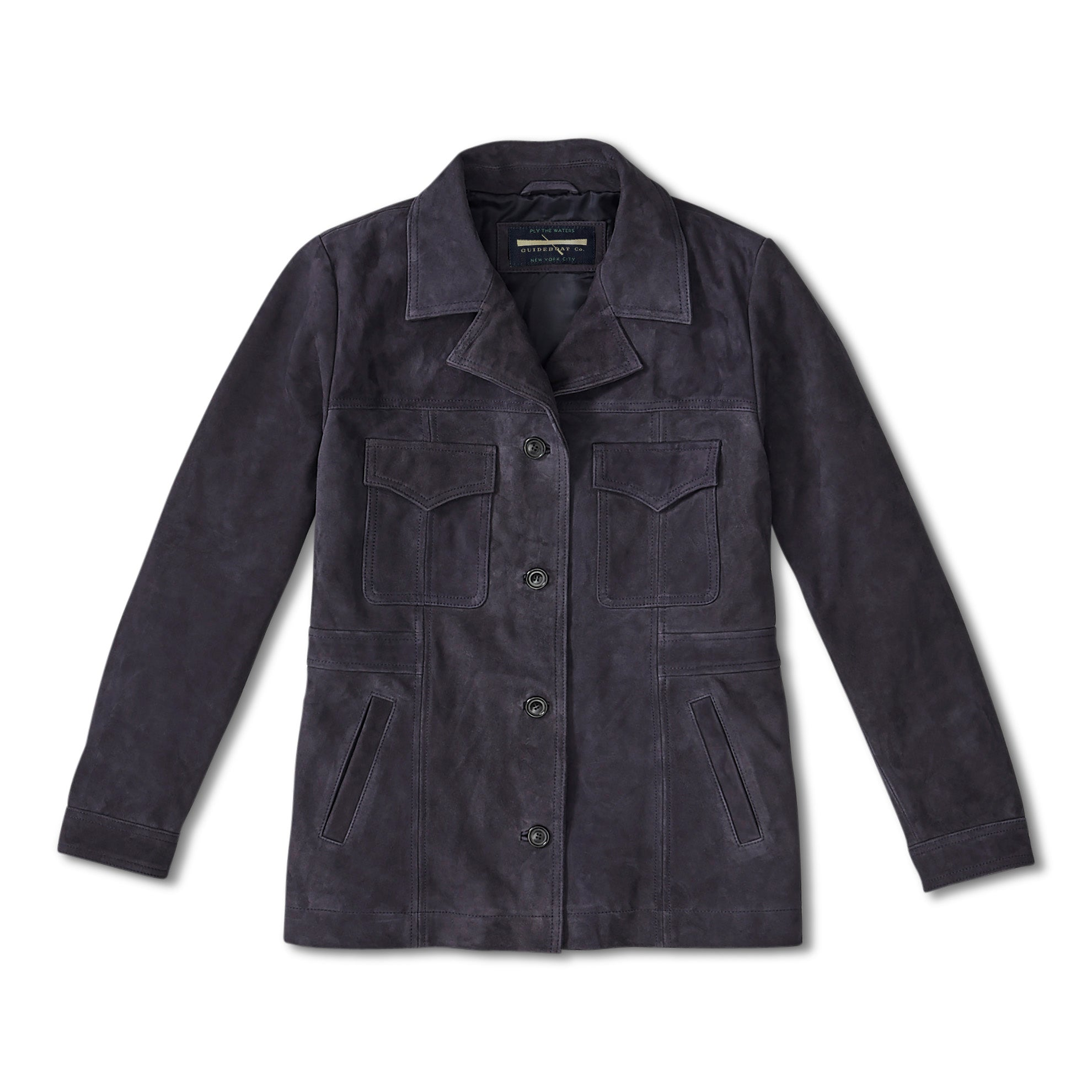 Women's Italian Suede Safari Jacket