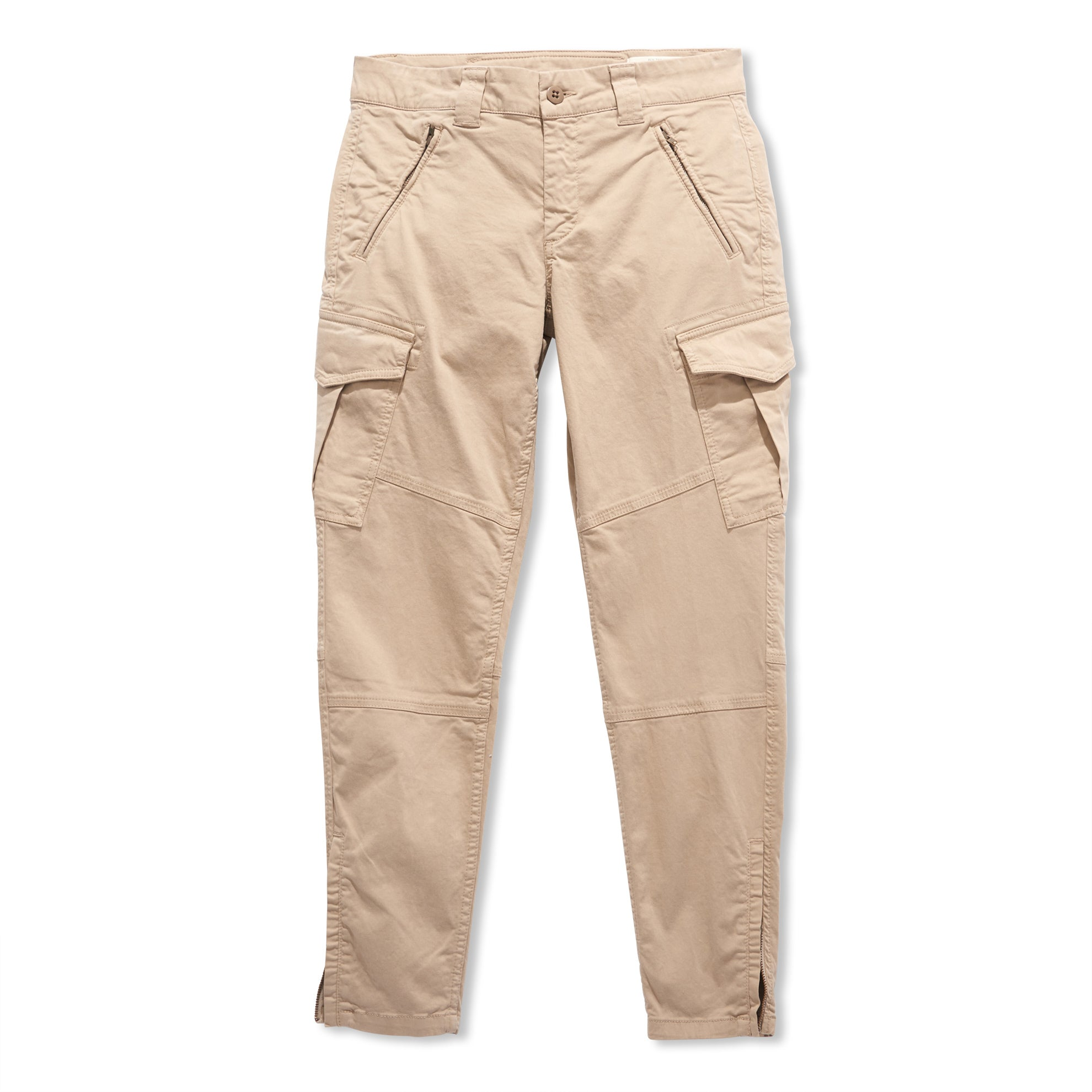 Sateen Cargo Pants