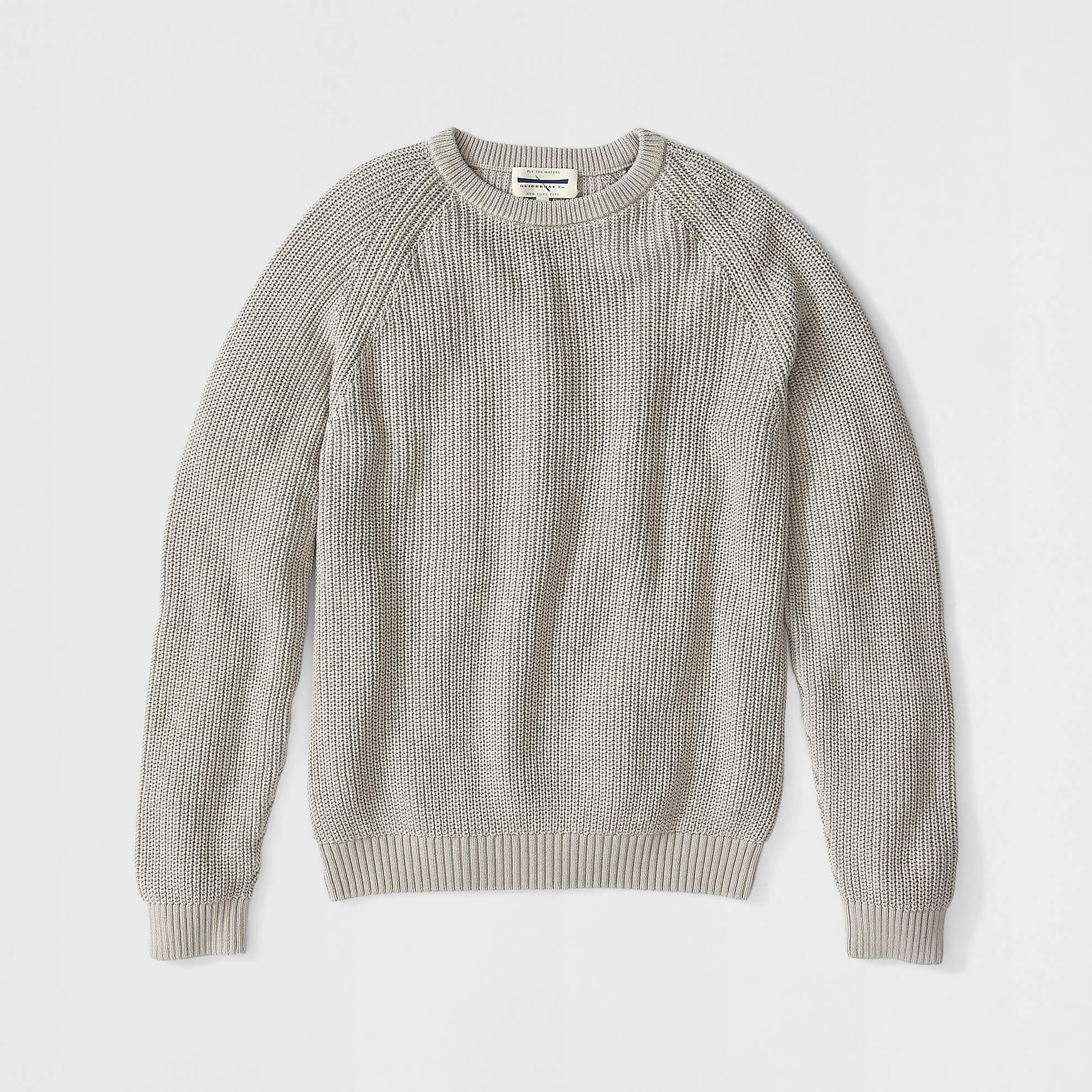 Crewneck Chunky Sweater