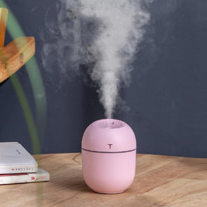 2020 Ultrasonic Mini Air Humidifier 200ML Aroma Essential Oil Diffuser for Home Car USB Fogger Mist Maker with LED Night Lamp - SSStyleN.com