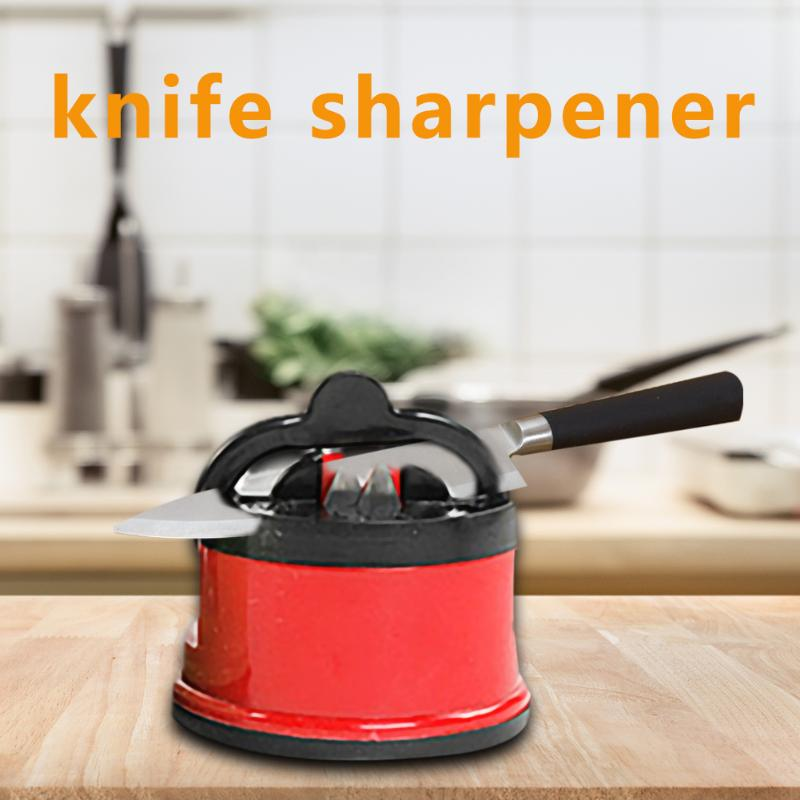 Kitchen Sharpening Tool Knife Sharpener Scissors Grinder Secure Suction Sharpener for Knives Kitchen Accessories - SSStyleN.com