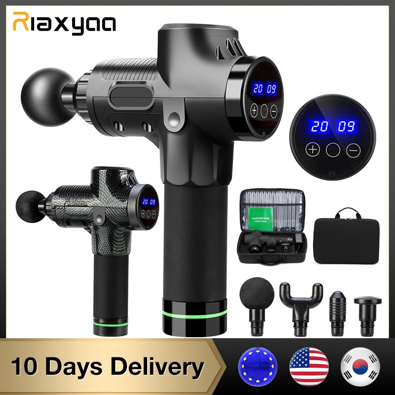High frequency Massage gun muscle relax body relaxation Electric massager with portable bag for fitness Phoenix A2 - SSStyleN.com