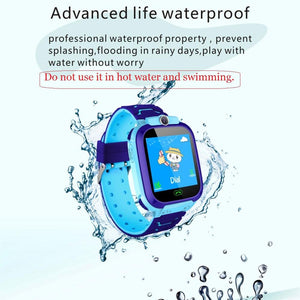Anti Lost S12 Kids smart Watch kids OLED Child kids Tracker SOS Monitoring Positioning baby watch Compatible IOS & Android - SSStyleN.com