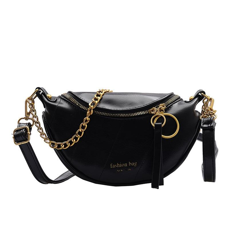 Women Chain Small Shoulder Messenger Bags Fashion Quality PU Leather Crossbody Bags For Women Lady Travel Handbags and Purse - SSStyleN.com
