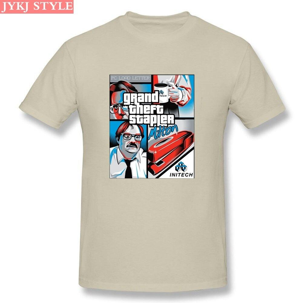 Grand Theft Stapler Cotton T Shirt - SSStyleN.com
