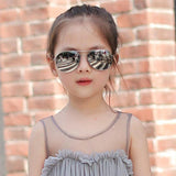 2020 Fashion Pilot Children Sunglasses Boys Girls 100%UV - SSStyleN.com