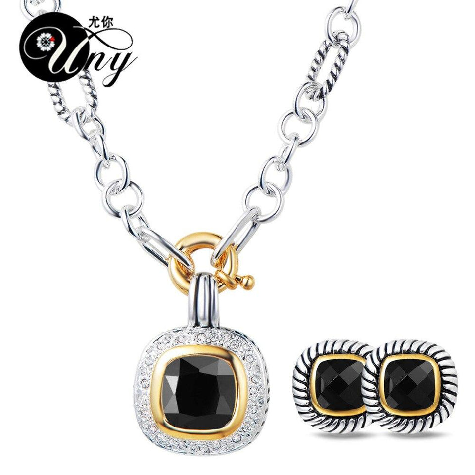 Trendy Designer Inspired Antique Vintage Jewelry Set - SSStyleN.com