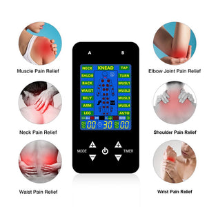 EMS Tens Machine Unit Electric Massager Pulse Muscle Stimulator Electrode Pads Digital Therapy Pain Relief Machine 15 Modes Tens - SSStyleN.com
