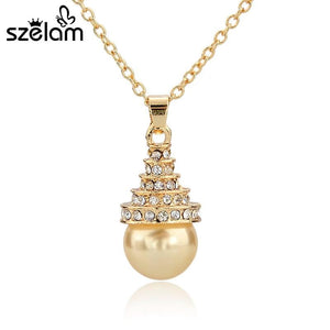 Szelam Long Gold/Silver Necklaces & Pendants - SSStyleN.com