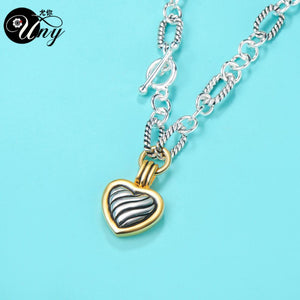 Designer InspireTrendy Antique Necklace Heart Pendant Necklace - SSStyleN.com