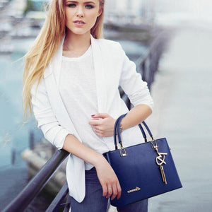 High Quality New Designer Fashion Tassel Shoulder Bag PU Leather Handbags - SSStyleN.com